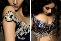 Blouse / Variety of blouses for saree with beautiful model