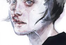 портрет иллюзия