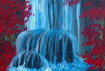 vann elementer moodboard
