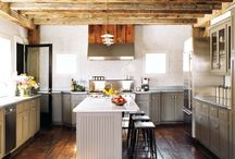 { kitchens } / Kitchens and related food prep spaces and things.