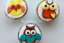 cupcakes owls