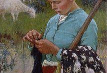 Art:flittige hender/busy hands