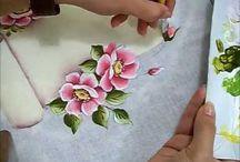 Pintura e~ tecido
