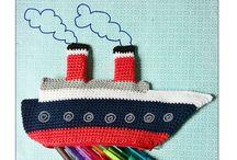 Crochet - Pencil Cases !