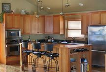 Home: Where we Cook / kitchens are often the center of the home ...