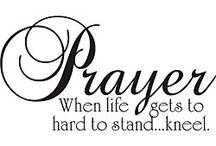 Pray kneeling
