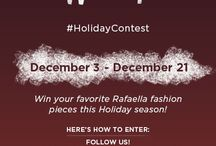 """Pin it to Win it #HolidayContest / Repin the official contest image below to your wishlist board and enter to win on our Facebook Page under the """"Pin It to Win It #holidaycontest"""" tab. Good Luck!"""