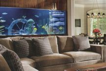 Aquarium for Office / Business / Relaxes your mind Boosts office morale Alleviates anxiety