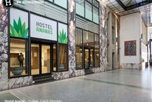 Hostel Ananas - Prague, Czech - #LoveHostels / Welcome to Hostel Ananas, the newly opened hostel at Wenceslas Square. Opening in May 2015, Hostel Ananas is the biggest hostel in Prague 1 – New Town, offering over 200 beds in shared rooms within the generous spaces of the historical Palác Koruna (Crown Palace).  The very central Hostel Ananas stands in the lower part of Wenceslas Square, where the Square and Na Příkopě street meet, making it only 6 minutes walk to the Old Astronomical clock. See more at /bit.ly/2huVgU6