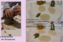 Activité : dinosaure et préhistoire // assistante maternelle / Assistante maternelle nounou enfant crèche RAM MAM petite enfance bébé activité et jeu dinosaure