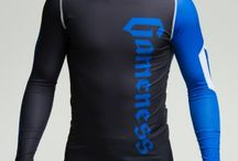 Gameness Blue Long-Sleeve Pro Rank Rash Guard / The Gameness Logo Rash Guard features comfortable and strong flat lock stitching, dyed-into-the-fiber graphics that will never peel or fade, and moisture wicking fabric.