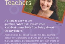 Tips from Our Teachers