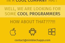 Recruitment / We are recruiting good talent in various technologies like Android, iOS, Web