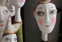Paper Craft, Paper Mache / by Karen Propp