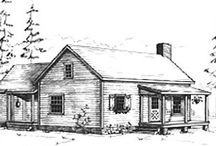 Small House plans / by Cupper Dickinson
