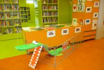 Krrr...okodil in mijn favoriete bieb / Krokodillen-tentoonstelling in Bibliotheek Hoorn Kersenboogerd