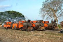 Java Sugar Mills, Narrow Gauge / These pictures remind me back in the days when I was at my Father's home town in Slawi, Central Java and saw Sugar Mill with its steam locomotives. I believe some engines are still running (2015).