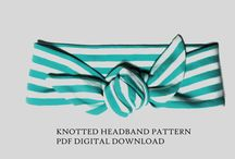 baby knotted headbands