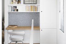 biurko z zabudową