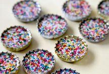 Sprinkle bottle caps