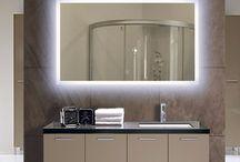 backlit mirror ideas