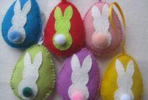 Filc húsvét - Felt Easter