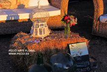 Decoración de fincas // PECCI / Decoraciones de fincas realizadas por Pecci Arte Floral