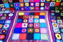 My  blankets crocheted