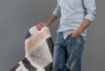 """""""CozyMir"""" Panton chair. Vitra. Design by Arseny Salnikov / Для арт-проекта Vitra """"Оммаж суприматизму"""" на основе знаменитого стула Panton Chair был создан арт-объект в духе супрематизма, который не теряет своей функциональности и, что приятно, становится ещё удобнее. Идеей проекта послужило желание сохранить совершенную форму и узнаваемый силуэт стула, придав ему черты  """"уютного"""" суприматизма."""