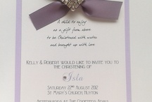 Christening  / Christening ideas, invitations, favors, and more.  / by Siboney Granados