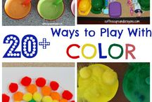 Preschool- Colors / by Lupe