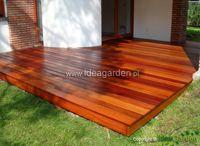 Drewno egzotyczne / Więcej informacji znajdziecie Państwo na: http://www.ideagarden.pl/deski-egzotyczne-gatunki.html