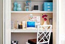 home office / by Rita Encarnacion