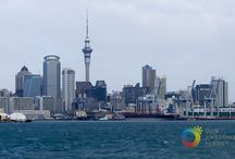 New Zealand Travel Guide / Travel Inspirational Board and Practical Guide to New Zealand