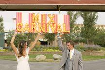 Carnival Themed Wedding
