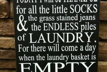 Laundry Room / by Crystal Louderback