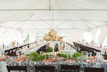 Tent Draping / We LOVE tents!