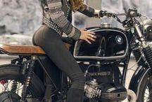 femmes moto