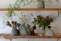 Racó interior amb plantes