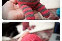 çoraptan bebek