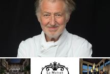 La Maison 1888 - Home to the 3 Michelin starred Chef Pierre Gagnaire / Pierre Gagnaire begins his culinary in Vietnam. La Maison 1888 is now home to the world-renowned chef Pierre Gagnaire.