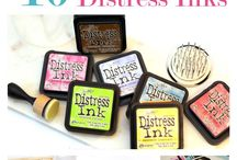 ♡ distress ink (& other craftsupplies
