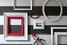 Murs / Idées de décoration murale, tableaux déco, déco de mur, papiers peints, tapisserie, cadre déco, toile, revêtement mural, parement, parement extérieur, crédence.