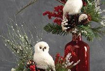 Vánoční výzdoba interiéru