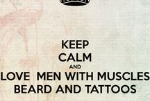 Men, Muscles and Tattoos
