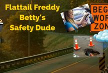Flat Tail Freddy / Safety Memes from our Safety Beaver - Flat Tail Freddy