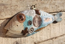 Fish  / Wood art