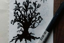 Trees / little draw of tree...