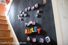 Para crianças / Ideias para fazer para as crianças: brinquedos, decoração e espaços especiais