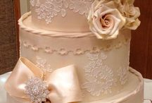 Wedding Cakes / Wedding Cakes by Crumbs Cake Boutique.